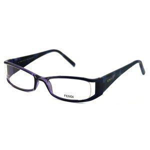 Fendi Rectangular Style Purple Frame